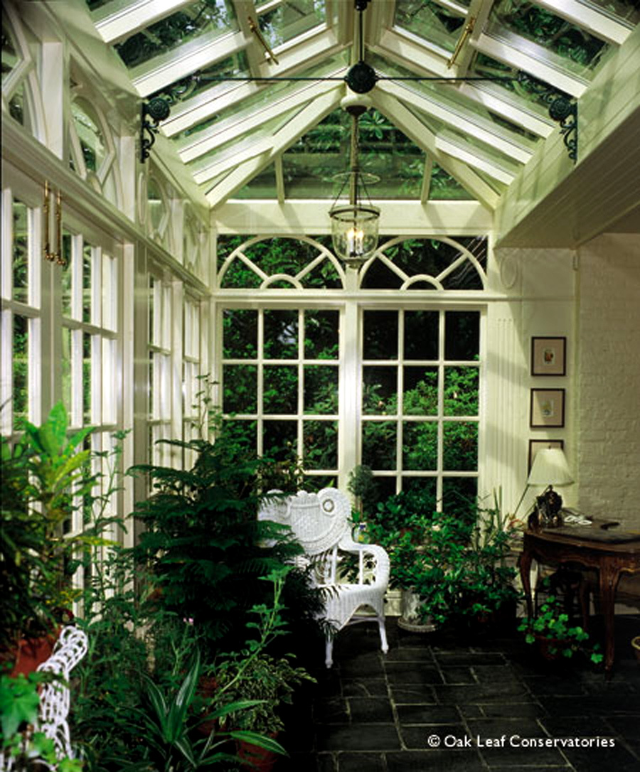 Dulley column color graphics for Victorian garden room
