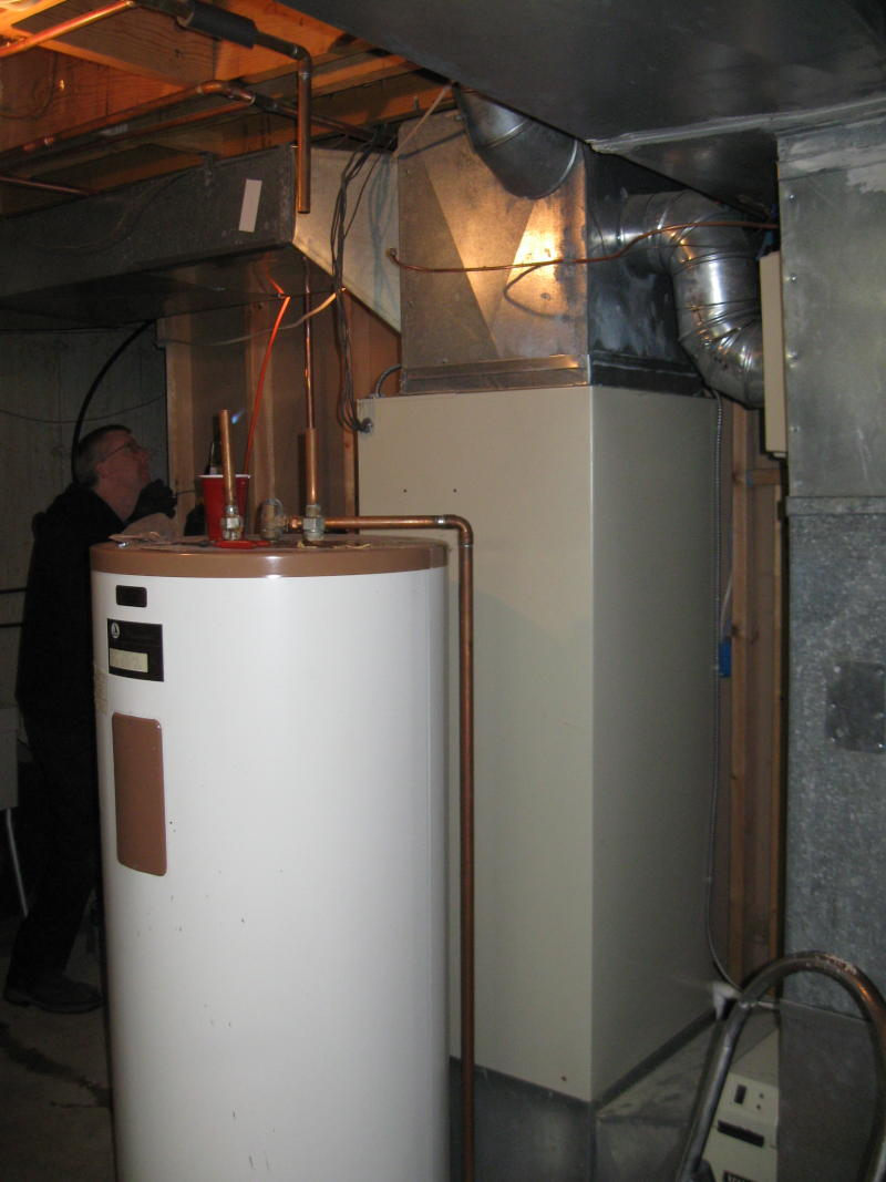 Photos Of Geothermal Heat Pump Installation At My House