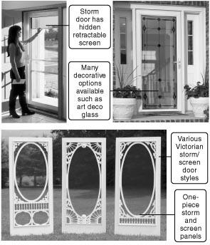 457 new decorative screen storm doors for saving for Fancy storm doors