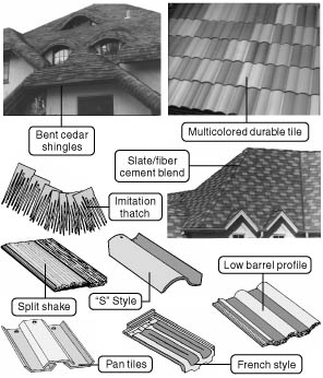 776 many alternative roofing materials are attractive for Types of roof covering materials