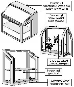 658 Garden windows add light and openness to any room