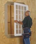 497 Designer Glass Plastic Block Windows Are Secure And
