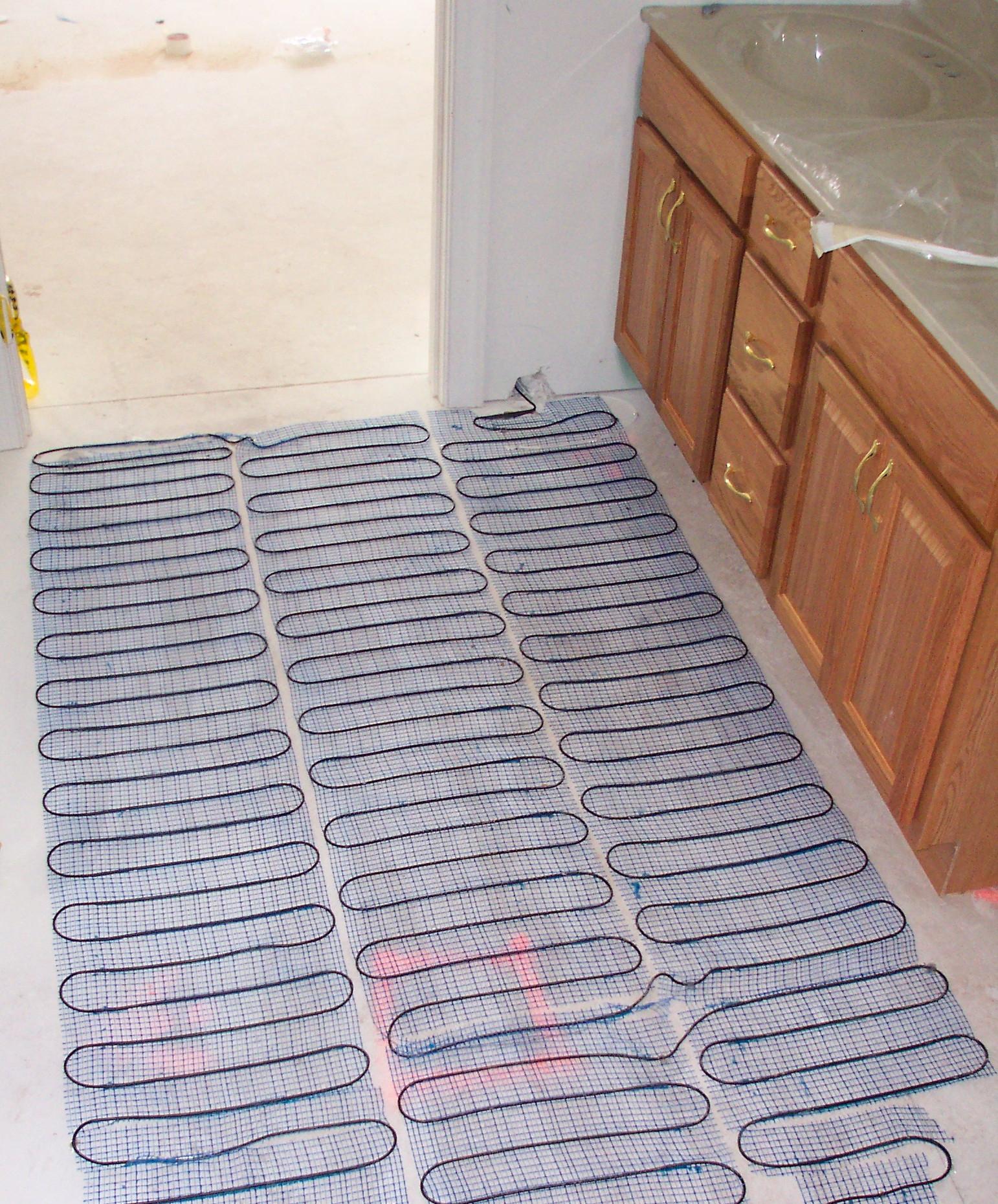 Heated Bathroom Floor Cost Gurus Floor