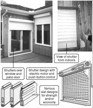 Several Designs Of Rolling Shutters